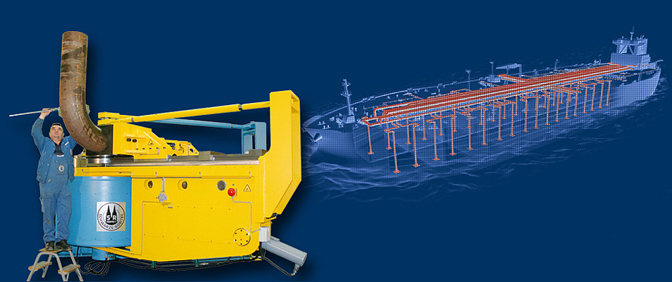 Bending Machines for Plant Construction, Shipbuilding & Offshore Industry